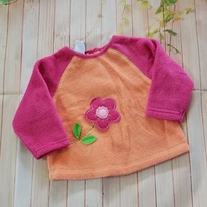 Pre-loved baby fleece shirt